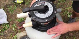 Comment changer le sable du filtre de la piscine