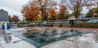 hivernage d'une piscine d'eau salée