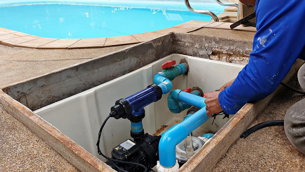 pompe eau piscine