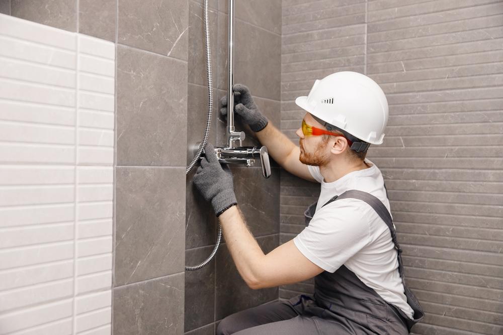 hauteur robinet de douche