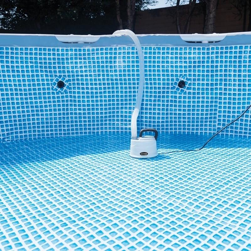 vider une piscine